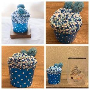 3 for $20 NWT Cozy Sky Blue Cupcake Socks